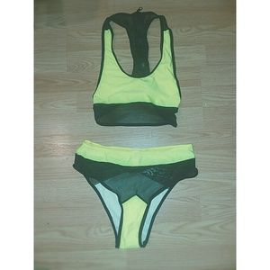 Neon Bathing Suit